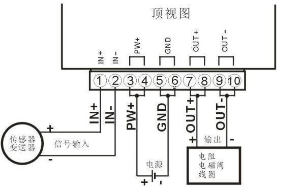 DIN11系列超大5A电流信号隔离变送器的用户手册免费下载