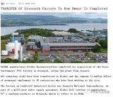 Diodes已经完成对德州仪器(TI)苏格兰晶圆厂的收购