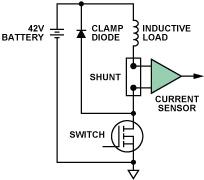 通过利用差动放大器与电流检测放大器执行高边电流检测功能