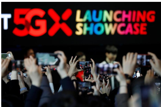 韓國三家電信運營商將正式啟動商用5G移動服務
