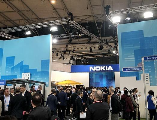 诺基亚已经与全球30个不同国家和地区签署了5G商业合同