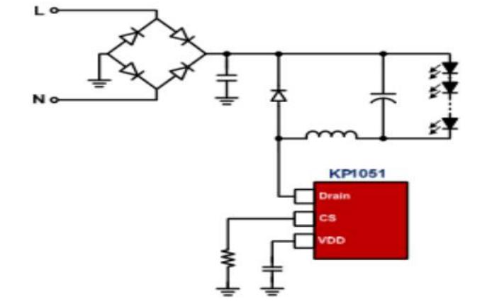 系列LED照明驱动方案IC的详细资料说明