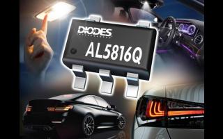 Diodes聚焦汽車LED照明 推出汽車電子AL5816Q線性LED控制器