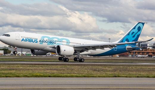 空客小型号A330-800飞机将可能在2019年...