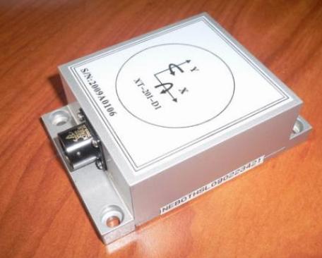ADI公司推出了一款双轴倾斜计传感器能提供出小于0.1度线性倾斜误差