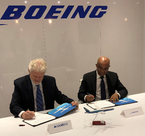 广州飞机维修公司将在亚太地区为波音飞机提供维修支持