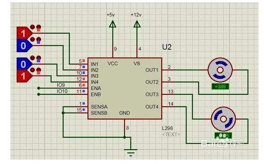 基于L298的Arduino扩展原理图和PCB工程文件资料免费下载