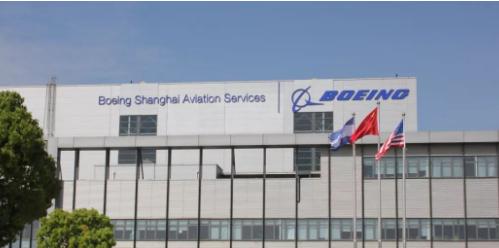 波音在中国上海展示了首场海外737MAX机型飞行...