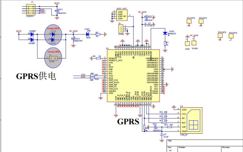 SIM800系列GSM GPRS模块的AT命令手册资料免费下载