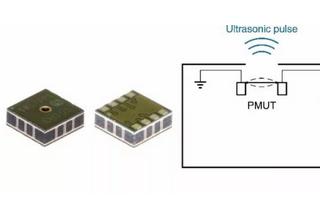 全球首款MEMS超声波飞行时间 (ToF) 传感器