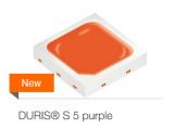 欧司朗光电半导体推出新型Duris S5 purple LED
