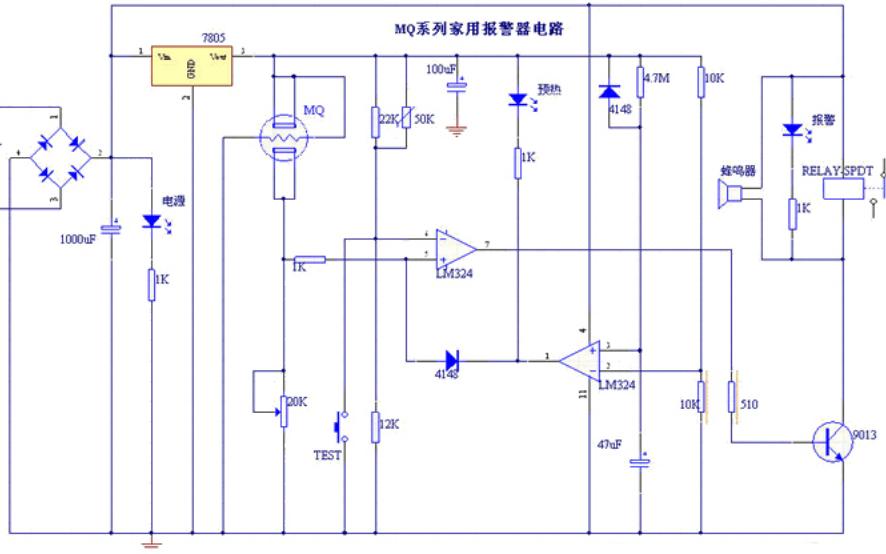 MQ135气体传感器的详细数据手册免费下载