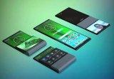 联想手机带有独特柔性铰链的可折叠手机?