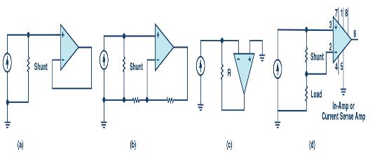 如何选择合适的放大器去测量电流