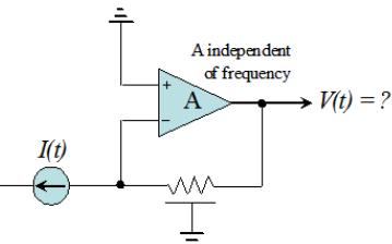 Leif的无限带宽运算放大器,具有有限的带宽反馈
