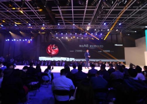 海信A8系列OLED不仅以画质惊艳全场 更推出了杀手级定价和服务政策