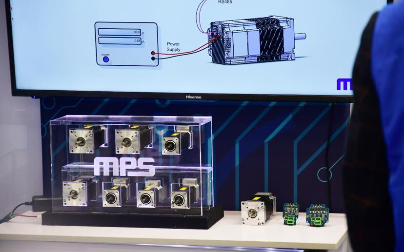 MPS推出最新一體化電機驅動模塊