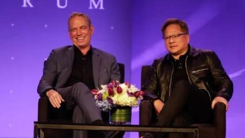 NVIDIA CEO谈AI医疗和数据科学