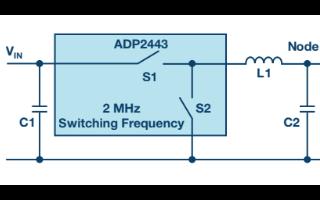 LC滤波器可用于降低开关稳压器噪声