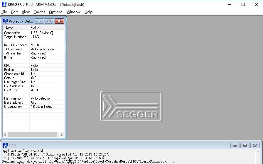 jlink驱动下载SEGGER J-FlASH ARM应用程序免费下载