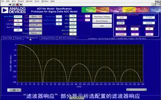 如何使用ADC主动功能模型来评估和调试AD719...