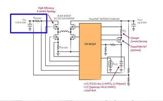 LTC4020高電壓電源管理器可實現即時接通操作...
