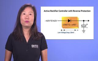 LT8672有源整流器控制器的性能及應用