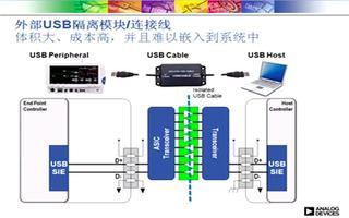 ADUM4160集成式单芯片USB隔离器的性能分...
