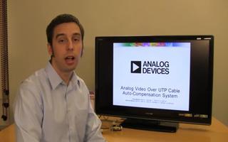 通过UTP电缆进行模拟视频的自动补偿系统开发