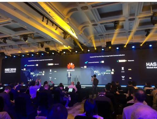 華為已經獲得40個5G合同5G基站發貨量超過了7...