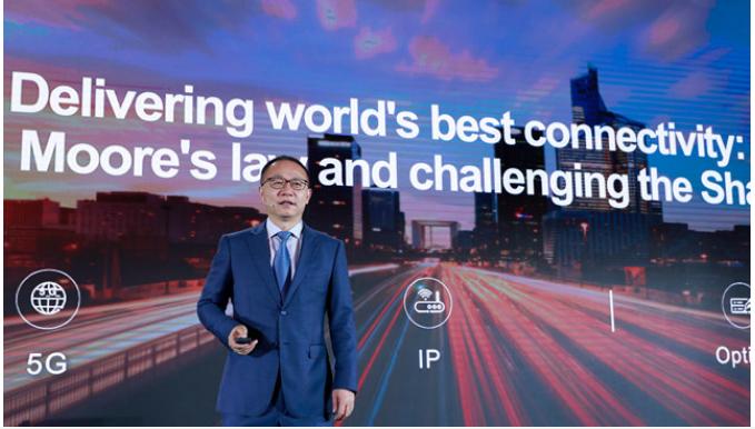 华为在IP网络领域不断挑战超高速互联极限将重定义摩尔定律