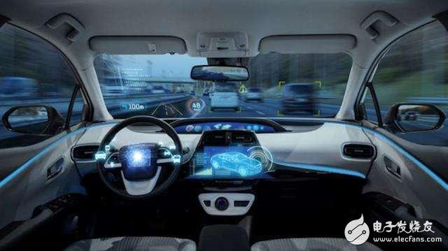 北汽集团于首钢园区内展示了列队自动驾驶技术