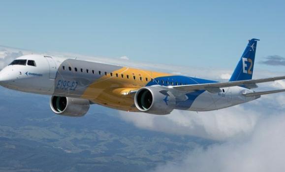 巴航工业的E195-E2飞机已获得了三家监管机构颁发的型号认证