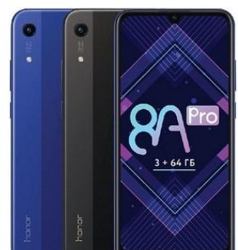 荣耀推出了一款名为荣耀8A Pro的手机搭载了H...
