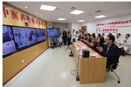 上海電信和華為正式啟動了上海基于5G技術的遠程診...