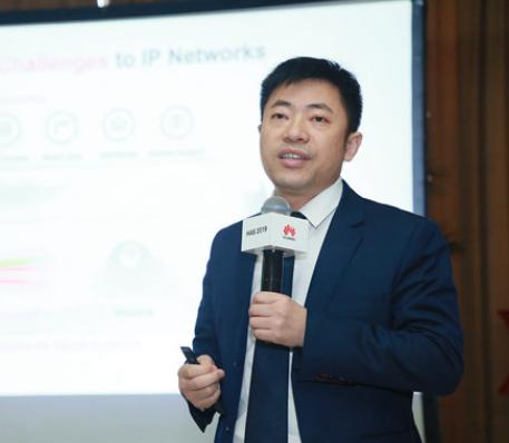 華為城域路由器總裁陳金助面對5G承載新挑戰提出了...