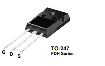 FDH45N50F 500V N沟道晶体管的数据手册免费下载