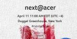 宏碁在纽约举办了Next@Acer活动,会上展示了各?#20013;?#20135;品