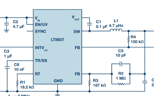 你了解具2.5 μA静态电流和超低EMI的42 V单片式同步降压型稳压器?