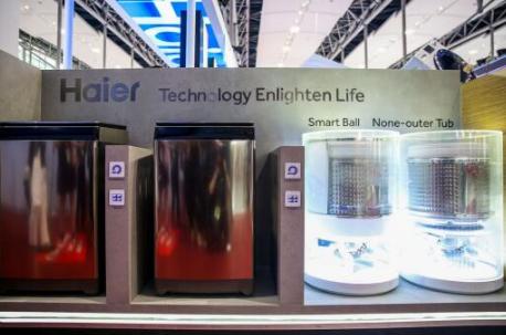 海尔洗衣机携免清洗产品亮相 在印度市场备受认可
