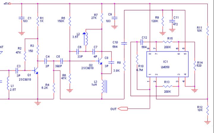 超再生接收电路和无线电发射器工作原理详细资料说明
