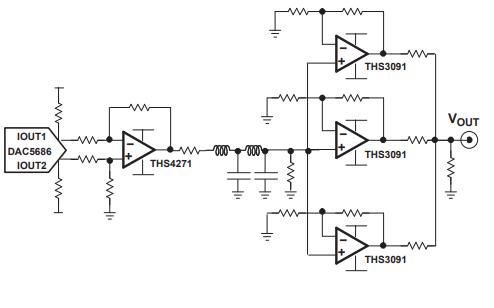 THS3091和THS3095运算放大器的数据手册免费下载