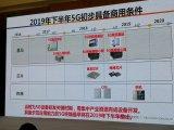 2019年下半年我国 5G初步具备商用条件