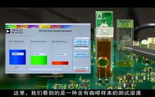 雙通道色度計CN0312的性能特點及應用分析