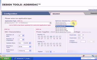 ADI在線設計工具ADIsimDAC的使用嚮導