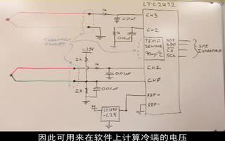 如何使用LTC2492模数转换器制作热电偶仪表