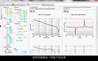 LTpowerCAD设计工具的回路补偿特性的介绍