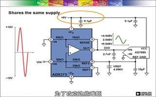 AD8275模数转换驱动器简化设计、降低成本