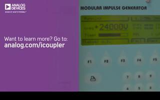 iCoupler数字隔离器和光耦合器的隔离功能测试