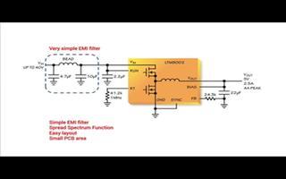 LTM8002 降压型µModule稳压器的性能及应用